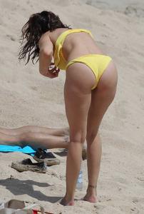 Stephanie Seymour Yellow Bikini Saint Barthelemy