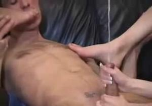 Hand job domination compilation
