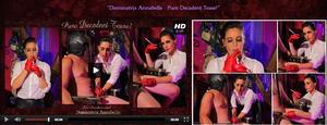 Dominatrix Annabelle – Pure Decadent Tease!