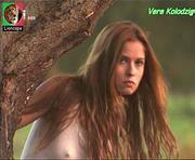 Vera Kolodzig muito sensual na novela Espirito Indomável