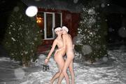golaya-krasotka-zimoy